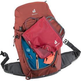 deuter Trail Pro 34 SL Backpack Women redwood/graphite